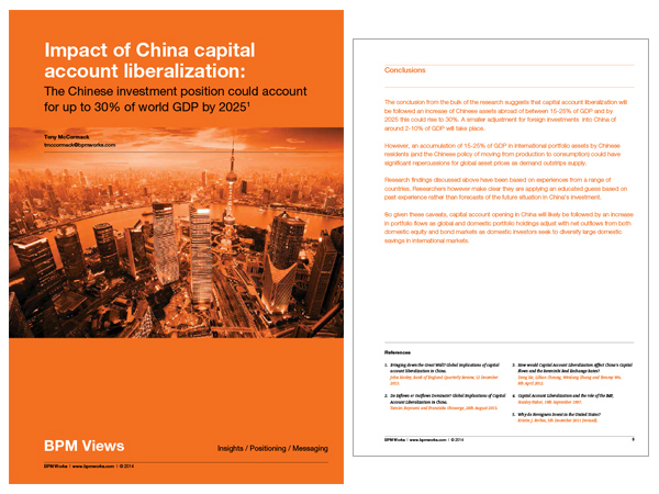 implications of chinese capital account liberalisation Global implications of the renminbi's ascendance  the rmb and china's capital account  the need of chinese importers and exporters rose rapidly for rmb.